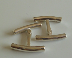 Thumb cufflinks bars