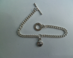 Thumb necklaces heart fat disc
